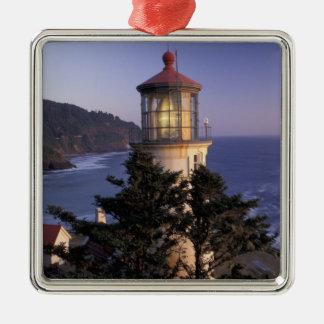 NA, USA, Oregon, Heceta Head Lighthouse, Christmas Ornament