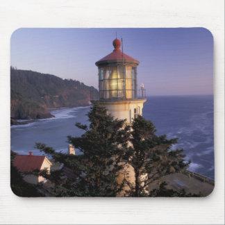 NA, USA, Oregon, Heceta Head Lighthouse, Mouse Mat