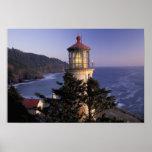 NA, USA, Oregon, Heceta Head Lighthouse, Posters