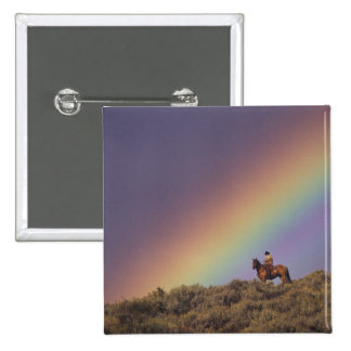 NA, USA, Oregon, Seneca, Ponderosa Ranch, 15 Cm Square Badge