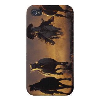 NA, USA, Oregon, Seneca, Ponderosa Ranch, Cowboy 2 Covers For iPhone 4