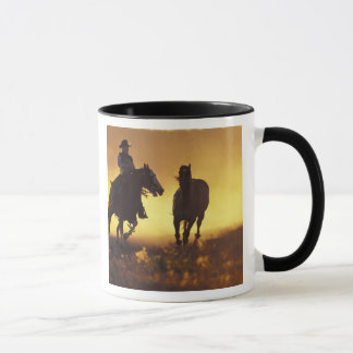 NA, USA, Oregon, Seneca, Ponderosa Ranch, Cowboy 3 Mug