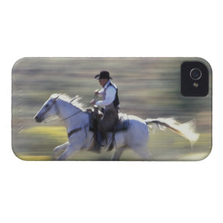 NA, USA, Oregon, Seneca, Ponderosa Ranch, Cowboy iPhone 4 Case-Mate Case