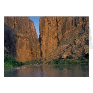 NA, USA, Texas, Big Bend National Park. Rio Greeting Card