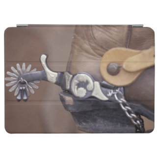 NA, USA, Texas, Lubbock Cowboy boot and spur iPad Air Cover