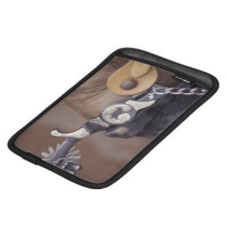 NA, USA, Texas, Lubbock Cowboy boot and spur iPad Mini Sleeve