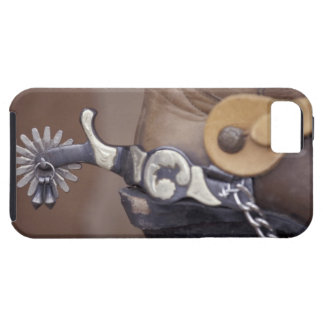NA, USA, Texas, Lubbock Cowboy boot and spur iPhone 5 Covers