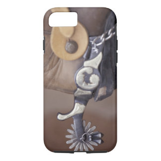 NA, USA, Texas, Lubbock Cowboy boot and spur iPhone 8/7 Case