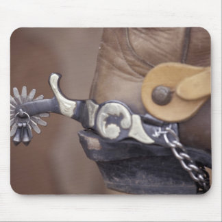 NA, USA, Texas, Lubbock Cowboy boot and spur Mouse Mat