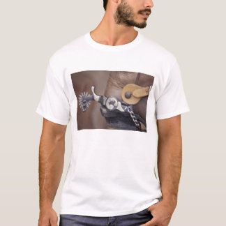 NA, USA, Texas, Lubbock Cowboy boot and spur T-Shirt