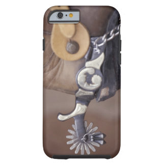 NA, USA, Texas, Lubbock Cowboy boot and spur Tough iPhone 6 Case
