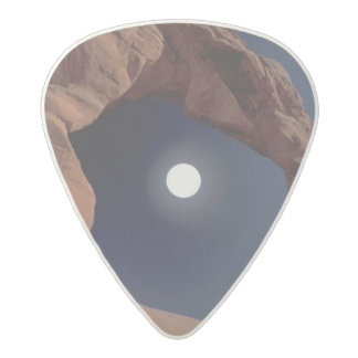 NA, USA, Utah, Arches National Park. Delicate Acetal Guitar Pick