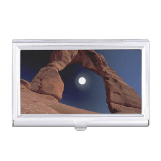 NA, USA, Utah, Arches National Park. Delicate Business Card Holder