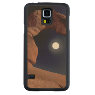 NA, USA, Utah, Arches National Park. Delicate Carved Maple Galaxy S5 Case