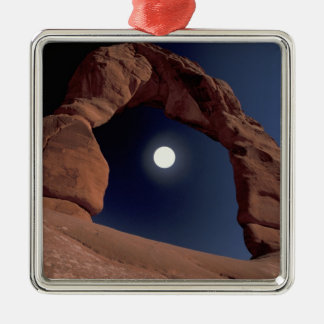 NA, USA, Utah, Arches National Park. Delicate Christmas Ornament