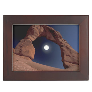 NA, USA, Utah, Arches National Park. Delicate Keepsake Box