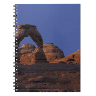 NA, USA, Utah, Arches National Park. Delicate Notebook