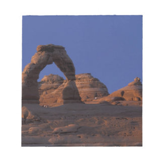 NA, USA, Utah, Arches National Park. Delicate Notepad
