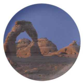 NA, USA, Utah, Arches National Park. Delicate Party Plate