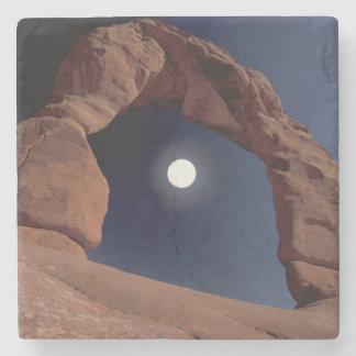 NA, USA, Utah, Arches National Park. Delicate Stone Coaster