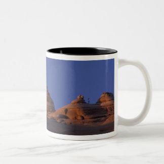 NA, USA, Utah, Arches National Park. Delicate Two-Tone Coffee Mug