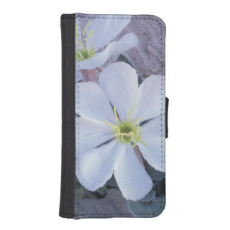 NA, USA, Utah, Arches NP, Evening primrose iPhone SE/5/5s Wallet Case