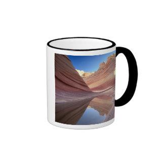 NA, USA, Utah, Vermillion Cliffs. Coyote Butte 2 Ringer Mug