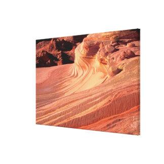NA, USA, Utah, Vermillion Cliffs. Coyote Butte Canvas Prints