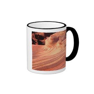 NA, USA, Utah, Vermillion Cliffs. Coyote Butte Ringer Mug