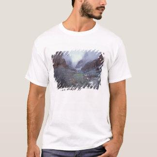 NA, USA, Utah, Zion NP, Spring snow storm, T-Shirt
