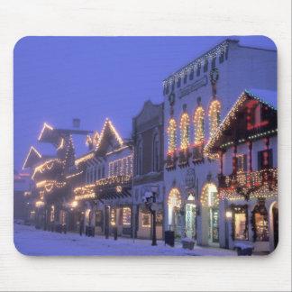 NA, USA, Washington, Leavenworth. Main Street Mouse Mat
