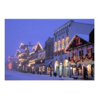 NA, USA, Washington, Leavenworth. Main Street Photograph