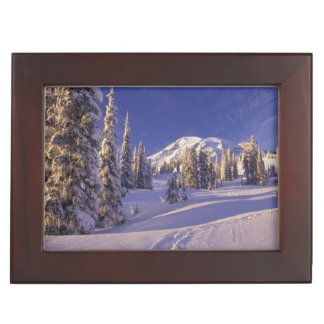 NA, USA, Washington, Mt. Rainier NP, Snowshoe Keepsake Box