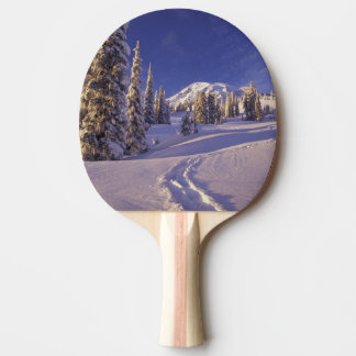 NA, USA, Washington, Mt. Rainier NP, Snowshoe Ping Pong Paddle