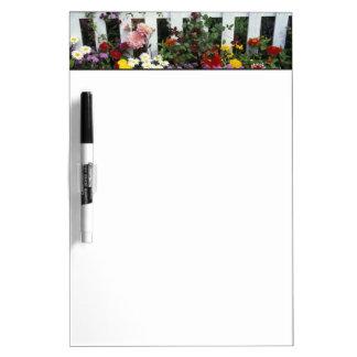 NA, USA, Washington, Sammamish, White picket Dry Erase Board