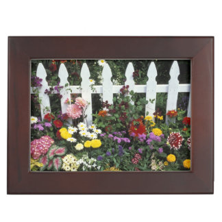 NA, USA, Washington, Sammamish, White picket Memory Box