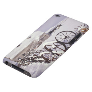 NA, USA, Washington, Uniontown, White barn and iPod Touch Case-Mate Case