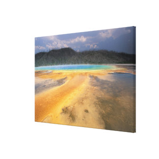 NA, USA, Wyoming, Yellowstone NP, Grand Canvas Print