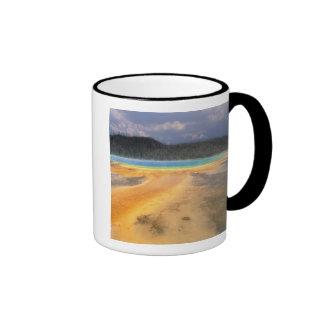 NA, USA, Wyoming, Yellowstone NP, Grand Coffee Mug