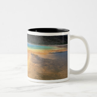 NA, USA, Wyoming, Yellowstone NP, Grand Two-Tone Coffee Mug