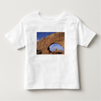 NA, Utah, Arches National Park. Double Arch Toddler T-Shirt