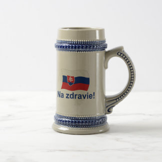 Na Zdravie! (To your health!) Beer Stein