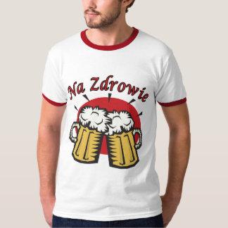 Na Zdrowie Toast With Beer Mugs Shirts