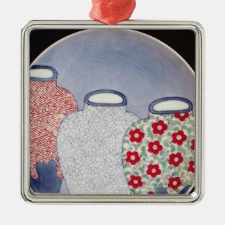 Nabeshima Dish, Edo Period Christmas Ornament