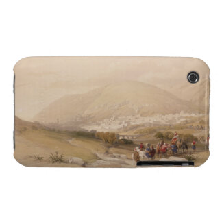 Nablous, ancient Shechem, April 17th 1839, plate 4 iPhone 3 Covers
