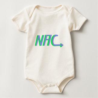NAC basic logo Baby Bodysuit