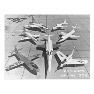 NACA X-Planes of the 1950s Postcards