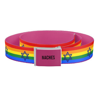 Naches Jewish Pride Belt