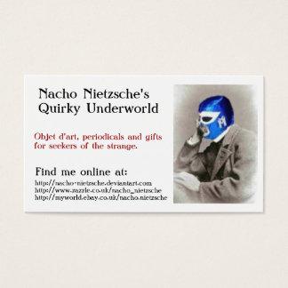 Nacho Nietzsche's Business Card