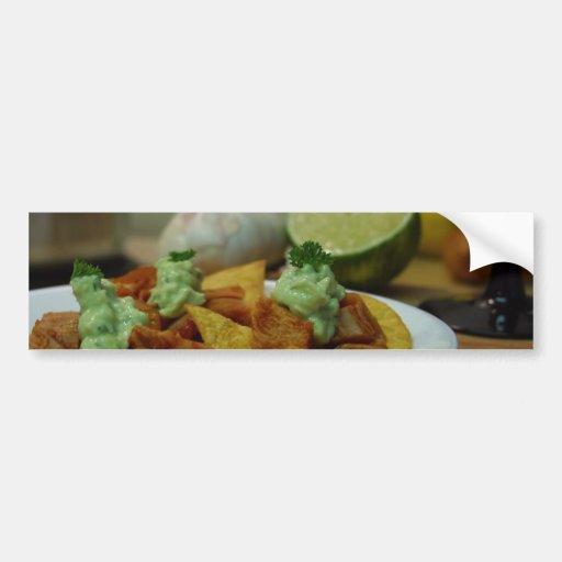 Nachos Limes Paltes Chips Garlic Kitchens Bumper Stickers